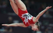 "Trampolinist Rosannagh ""Rosie"" Maclennan earned Canada's only gold medal at the 2012 London Games. She successfully defended her title and took home gold again at the Rio 2016 Games."