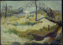 Isolated Grave and Camouflage, Vimy Ridge - Mary Riter Hamilton (1919)