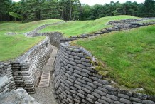 Perserved Trenches at Vimy Ridge Memorial