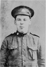 Private William Johnstone Milne of the 16th (Canadian Scottish) Battalion.