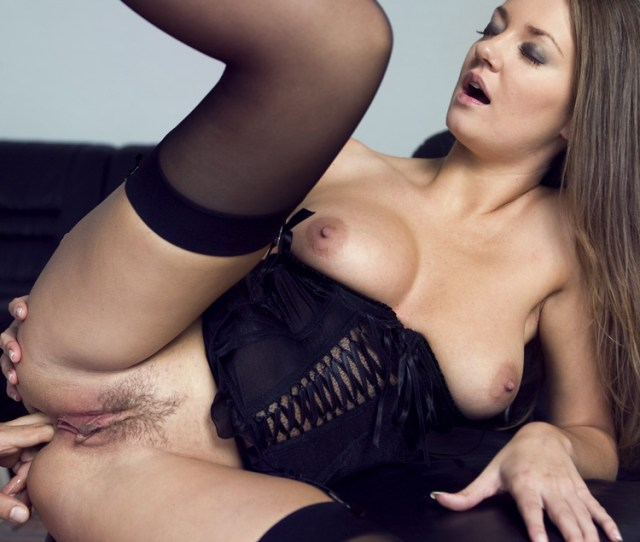 Private Porn Video Karina Gets Into Lingerie And Stockings To Please Her Man