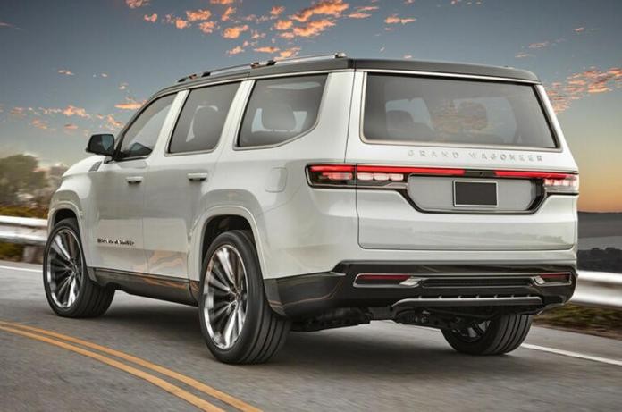 Jeep Grand Wagoneer concept revealed - Autocar India