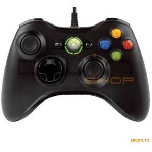 MICROSOFT XBOX 360 Wired Common Controller pentru PC si XBOX, 52A-00005