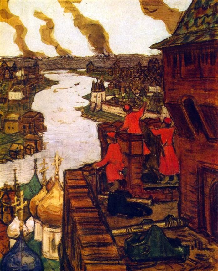 Татари долазе! Аполинариј Васњецов.