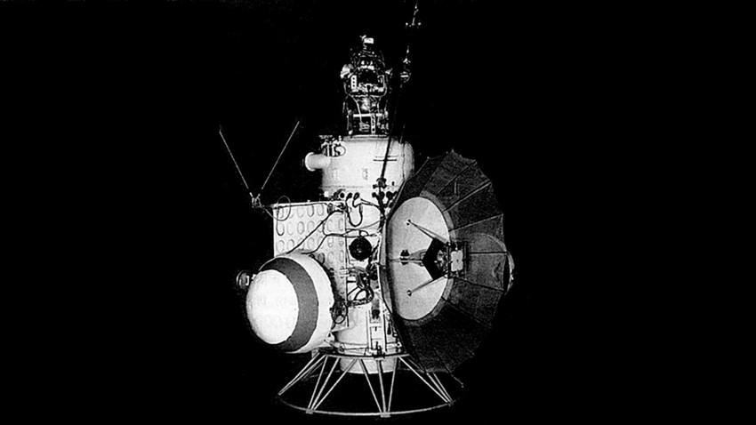 Nave interplanetaria soviética Venera 2.