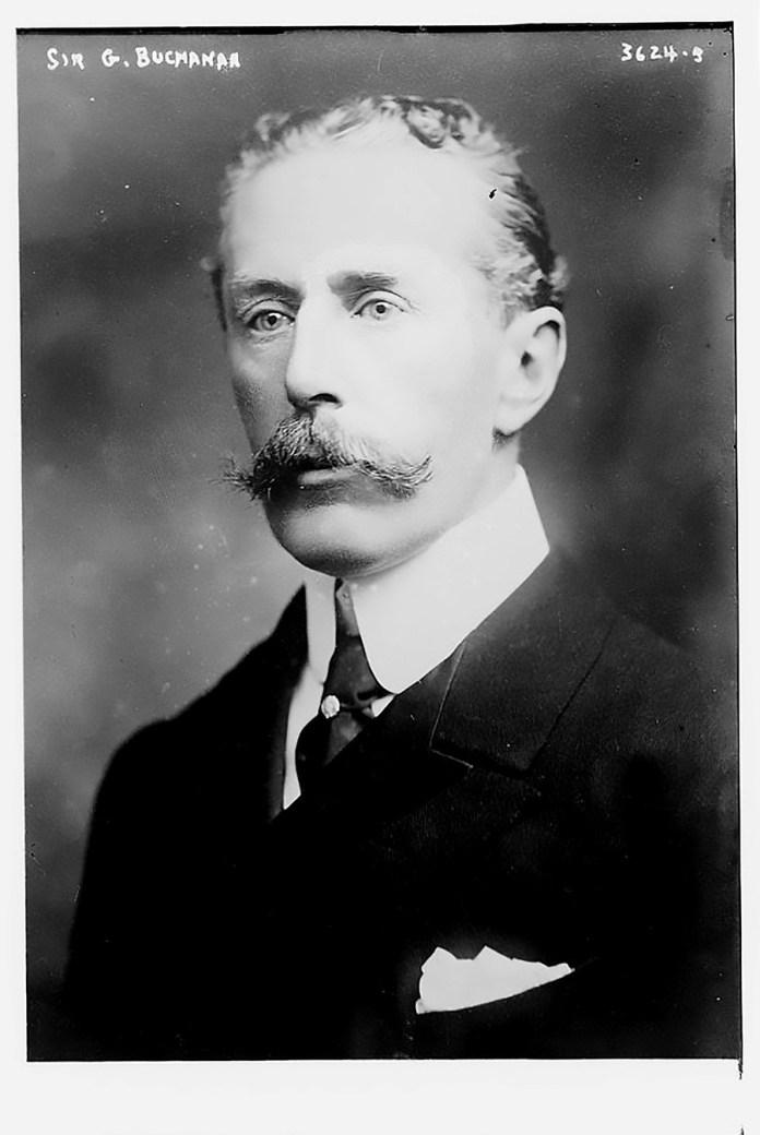 Сер Џорџ Вилијам Бјукенен, 1915.
