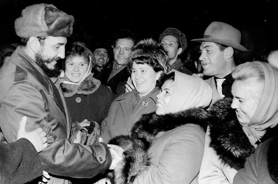 Cuando Fidel Castro viajó al norte de Rusia - Russia Beyond ES