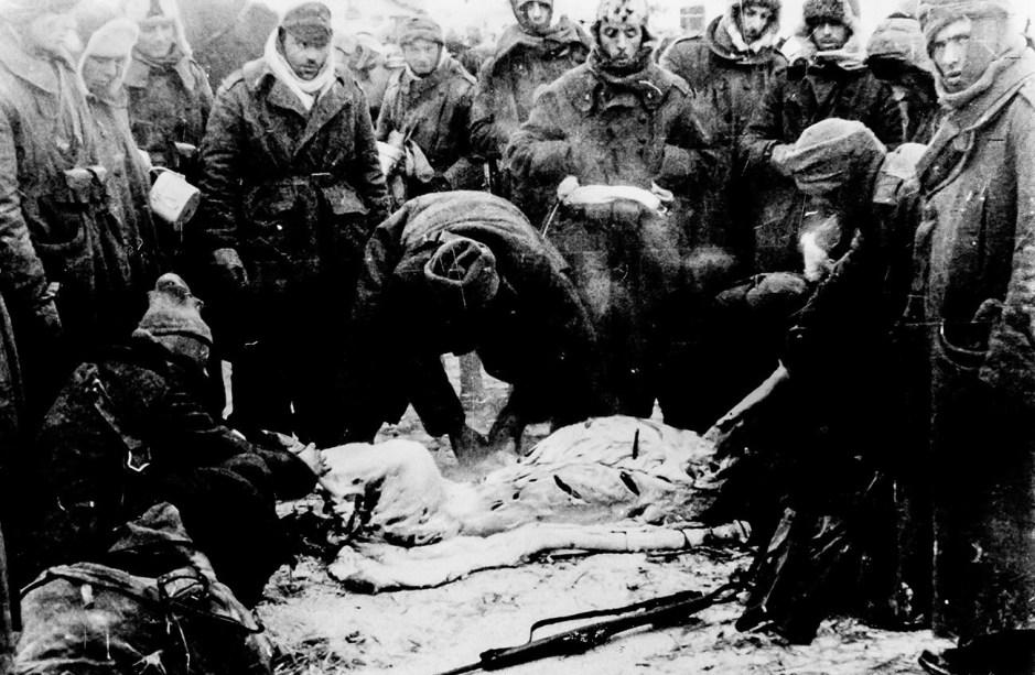 Las tropas italianas en la Unión Soviética