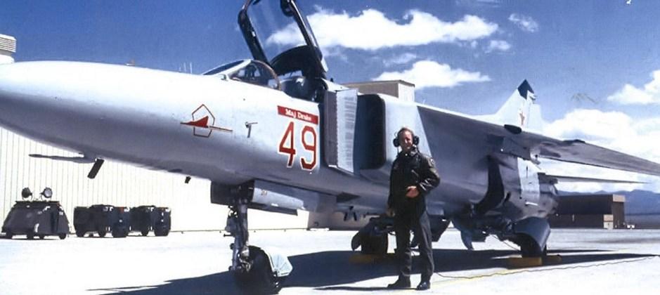 MiG-23 del 4477º Escuadrón de Pruebas y Evaluación.