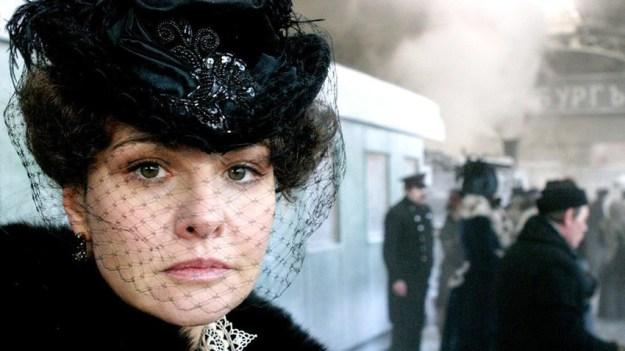 Actress Tatiana Drubich as Anna Karenina