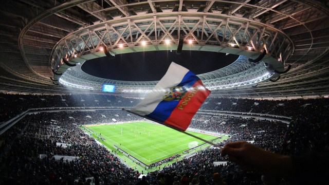 Duelo entre Rusia y Argentina en el mítico Luzhnikí rompe récord de asistencia (FOTOS)