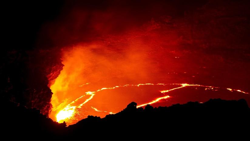 Terriblemente hermosa: Captan la 'sonrisa' de un volcán activo en Etiopía