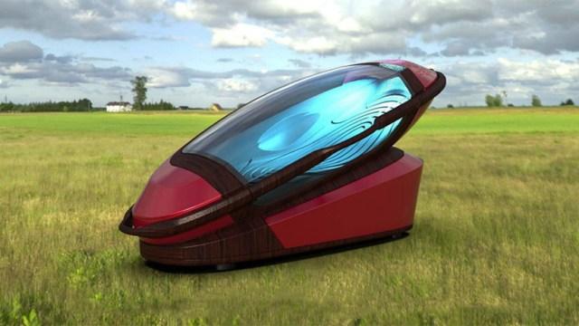 """Crean una máquina para ejecutar """"suicidios racionales"""" rápido y sin dolor (puede imprimirse en 3D)"""