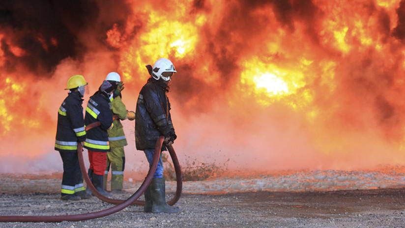 Reportan una explosión en uno de los principales oleoductos de Libia