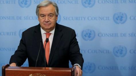 """El secretario general de la ONU lanza una """"alerta roja"""" para el mundo"""