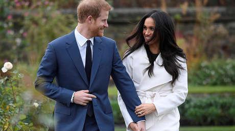 El príncipe Enrique de Gales y Meghan Markle