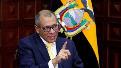 Vicepresidente de Ecuador, Jorge Glas.
