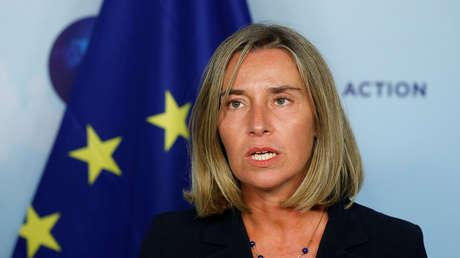 La alta representante de la Unión Europea para la Política Exterior y de Seguridad, Federica Mogherini.