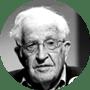 Noam Chomsky, filósofo, politólogo y activista estadounidense