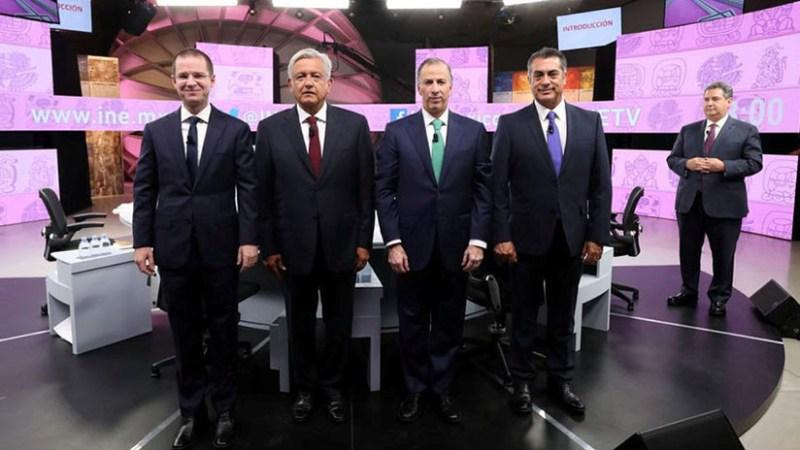 Cruce de acusaciones y propuestas ambiguas en el tercer y último debate presidencial en México