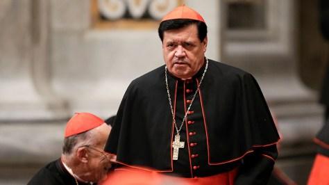 México: Balean la residencia del cardenal Norberto Rivera Carrera