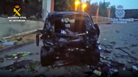 Detenidos tres sicarios acusados de colocar dos bombas en España (VIDEO)
