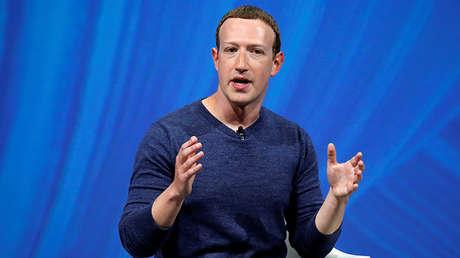 The president of Facebook, Mark Zuckerberg.