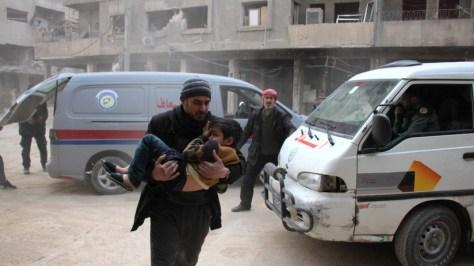 """Rusia espera escuchar la versión oficial de la BBC sobre el """"teatro absurdo"""" escenificado tras un supuesto ataque químico en Siria"""