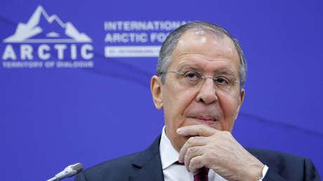 El canciller ruso Serguéi Lavrov.