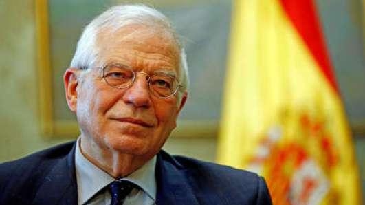 El ministro español de Exteriores, Josep Borrell en Madrid (España) el 20 de marzo de 2019.