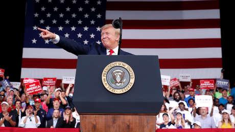 El presidente estadounidense, Donald Trump, en Panama City, Florida, el 8 de mayo de 2019.