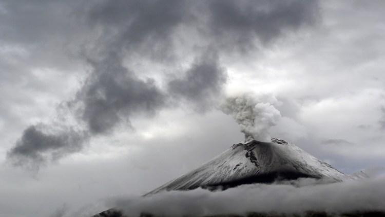 Advierten sobre posible caída de ceniza en Ciudad de México tras nuevas explosiones del volcán Popocatépetl (FOTO, VIDEO)
