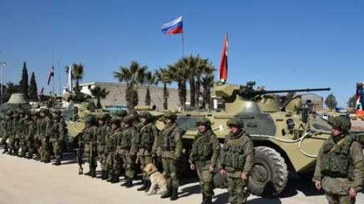 Ingenieros militares rusos en Alepo, Siria