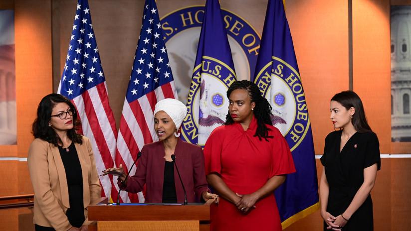 La Cámara de Representantes vota a favor de condenar los comentarios racistas de Trump contra mujeres congresistas de EE.UU.