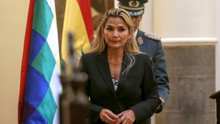 Image result for foto de la presidenta de bolivia 2019