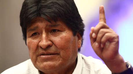 """Morales secunda la iniciativa de la CIDH para lanzar una investigación sobre """"las masacres"""" del Gobierno de facto de Bolivia"""