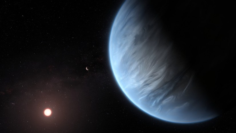 A rocky planet twice the size of the Earth could be