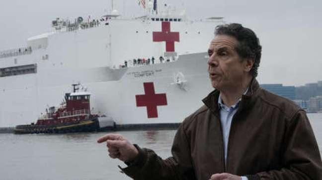 "Gobernador de Nueva York alerta a otros estados: ""Mírennos a nosotros, se verán a sí mismos mañana"""