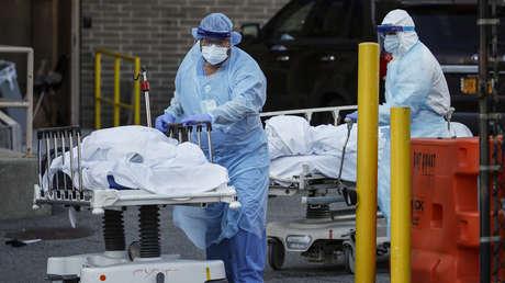 Nueva York registra un nuevo récord diario de muertes por coronavirus con 779 fallecidos