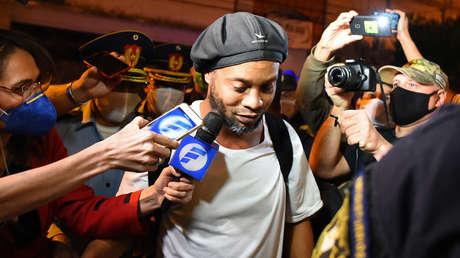 Ronaldinho rompe su silencio y cuenta lo que vivió en la cárcel