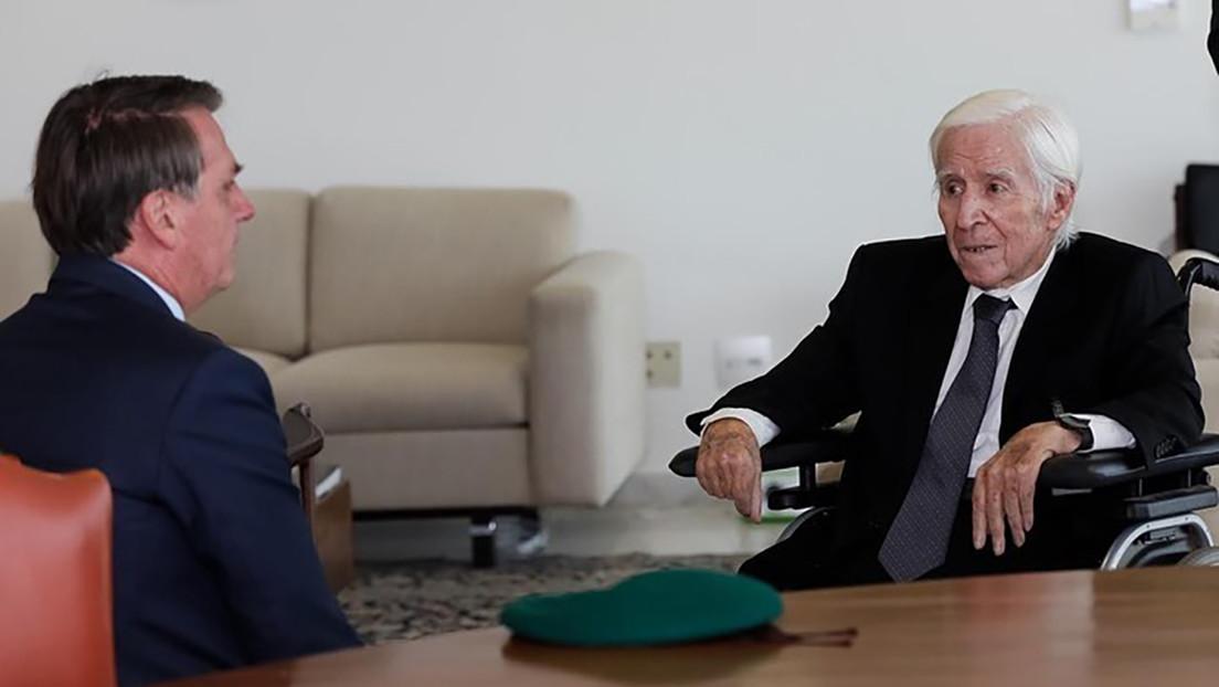 Bolsonaro se reúne con un exmilitar denunciado por homicidio y ocultación de cadáveres durante la dictadura