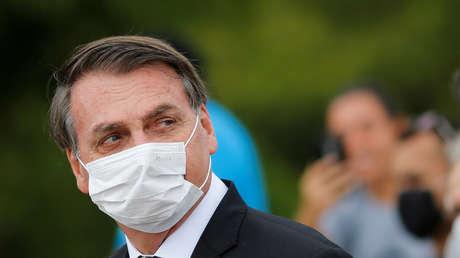 """Bolsonaro sobre las víctimas fatales de la pandemia: """"Es el destino de todo el mundo"""""""