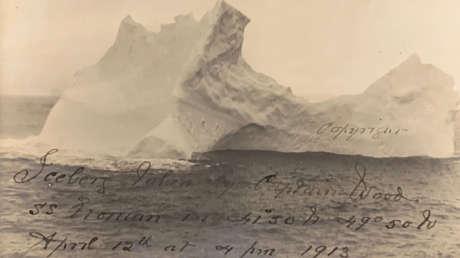 Sale a la luz una fotografía del presunto iceberg que hundió al Titanic