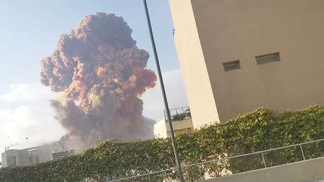 Líbano: Se registran potentes explosiones en Beirut (VIDEOS)