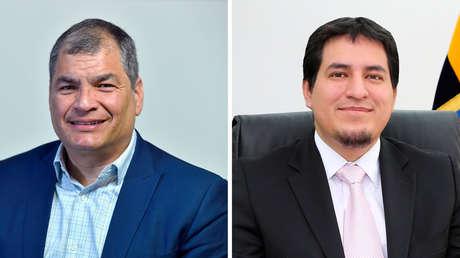 """Rafael Correa y Andrés Arauz confirman su binomio a las presidenciales de Ecuador: """"No podrán derrotarnos"""""""