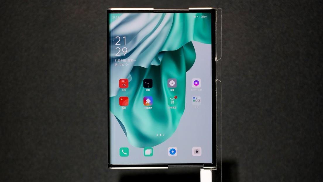 Oppo presenta un innovador concepto de teléfono con pantalla enrollable (+video)