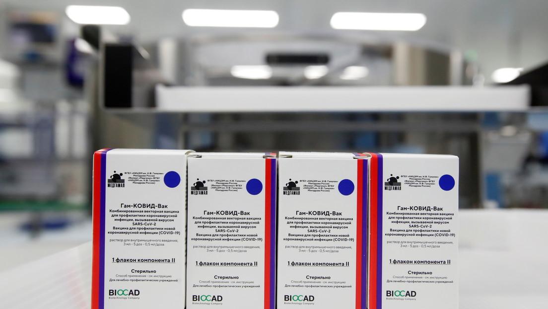 """Maduro anuncia que """"muy pronto"""" llegarán a Venezuela las primeras 10 millones de dosis de la vacuna Sputnik V"""