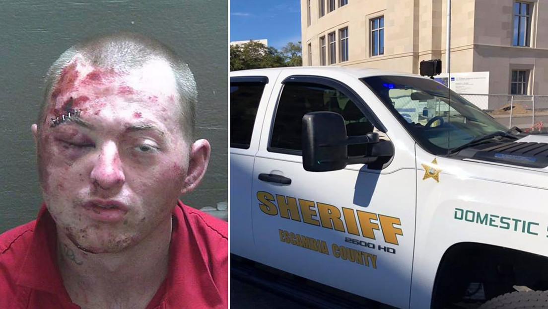 Sigue atacando a los policías a pesar de perder y recuperar el conocimiento dos veces durante su detención con perros y pistolas táser en EE.UU.