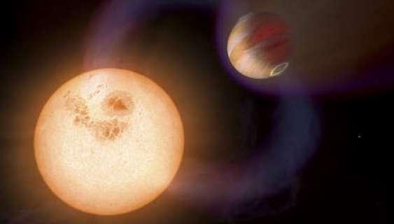 Descubren evidencia de un sistema meteorológico en un 'júpiter caliente'