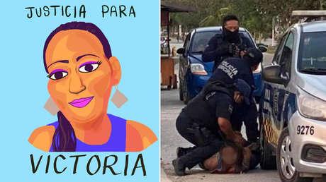 Asesinato de salvadoreña por policías conmociona a México